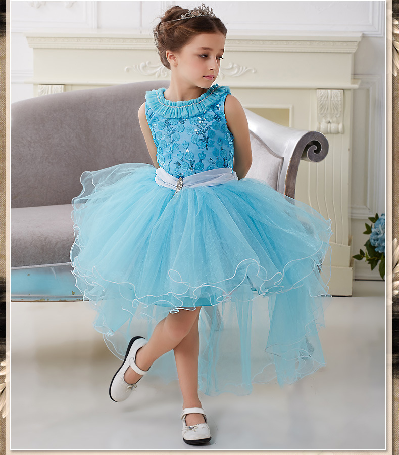 Fantasia Halloween Fantasy Party Princess Kids Dress Elsa And Anna Halloween Carnival Kids Costume Dresses HW0018