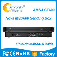 LCT600 compare MCTRL600 controller LED display full color sending card msd600 inside LED full color video wall sending box