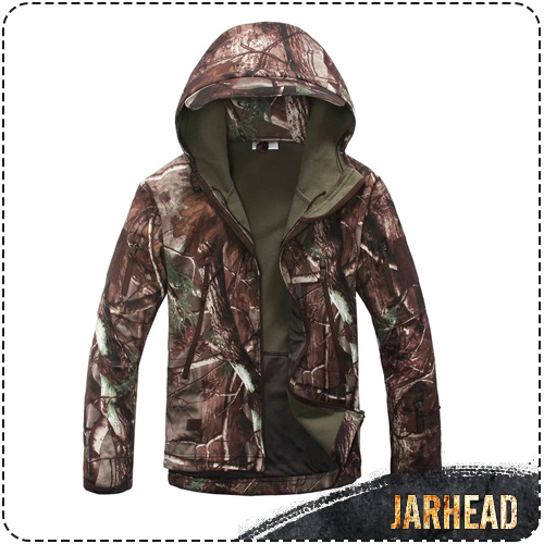 High quality Lurker Shark Skin SoftShell Outdoor Military Hunting Tactical Jacket Waterproof Windproof Sports Army Clothing lurker shark skin softshell v4 military tactical jacket sets men women waterproof windproof warm coat pants camouflage clothing