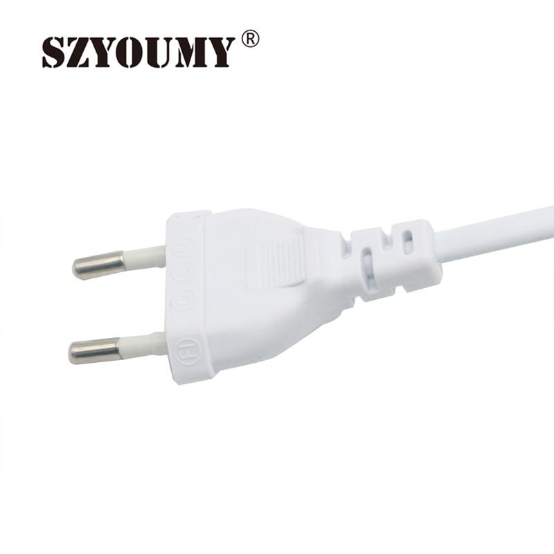SZYOUMY 220V LED bande 2835 60 LED s/M IP65 étanche Flexible LED ruban ruban extérieur 300m 200 pièces plug - 5