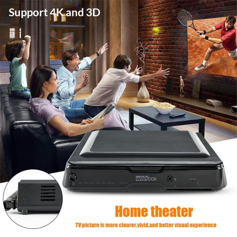שליכט אקרילי סט Top Box DVB-S2 מפענח Android TV Box 802.11 b / g / n Amlogic S812 2G + 8G Media Player 2G DDR3 8GB Nandflash אוקטה Core 450mp GPU (4)
