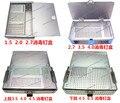 Медицинский ортопедии инструмент стерилизации коробка алюминиевый сплав винт коробки приборные