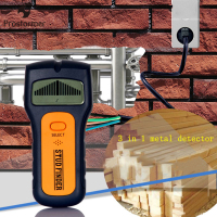 Prostormer 3In1 Metal Detectors Find Metal Wood Studs AC Voltage Live Wire Detect Wall Scanner Electric