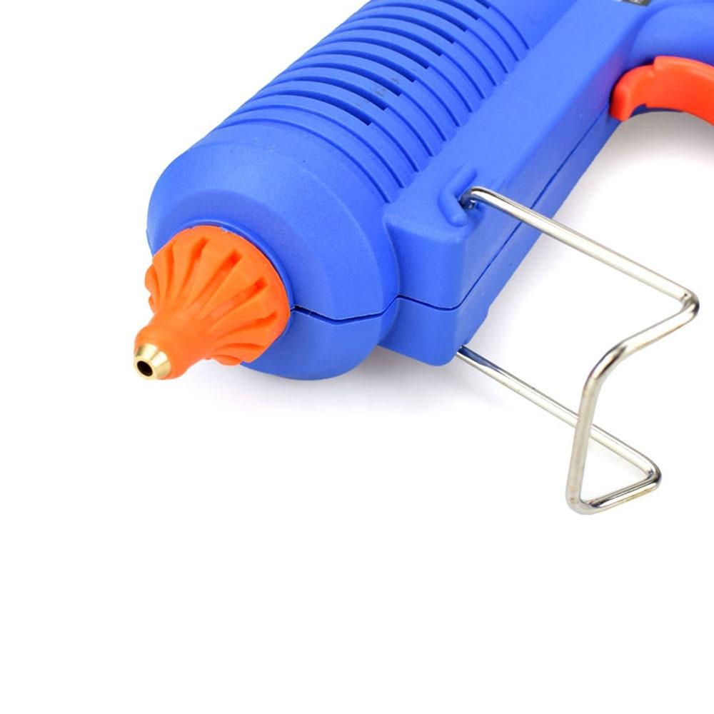 Image 3 - 150W EU Plug BULE Hot Melt Glue Gun with  Temperature Tool Industrial Guns Thermo Gluegun Repair Free 1pc 11mm Stick-in Glue Guns from Tools on