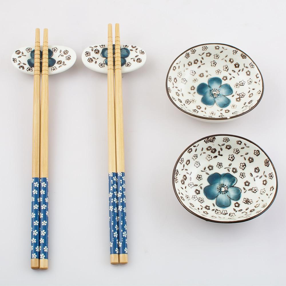 Japanese Tableware Set Ceramics Sushi Saucer Set