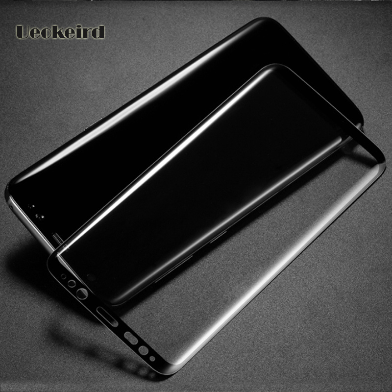 Transparent Glass Film Case For Samsung Note 8 Flim 3D Full Coverage Curved Surface For Galax S8 S8 Plus S7 S6 Edge S5 Membrane ...