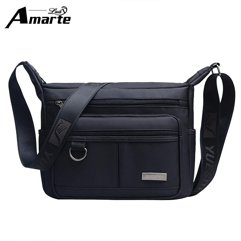 Men Bags Nylon Messenger Men & Women Designer Brand Fashion Crossbody Shoulder Bag Solid Male Casual Travel Bag Women Shoulder famous messenger bags for women fashion crossbody bags brand designer women shoulder bags bolosa