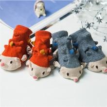 Cute Fashion Cotton Baby 3D Cartoon Animals Socks Anti Skid Socks for Kids Children Unisex Boys Girls Soft Floor
