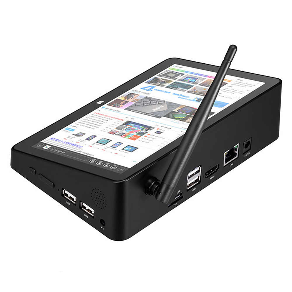 Pipo X8S X8 Pro Двухъядерный Intel HD Графика ТВ коробка Windows 10 Intel Z3735F 4 ядра 2 ГБ/32 ГБ флэш-памяти, ТВ коробка 7 дюймов Экран мини-ПК