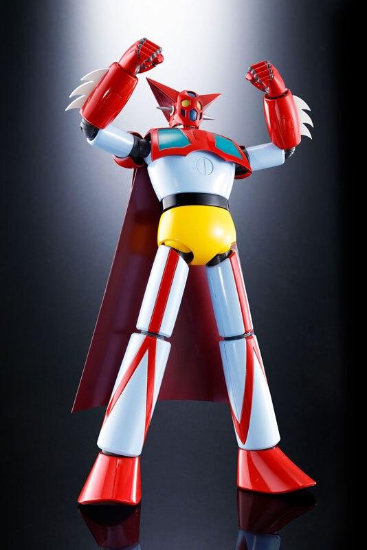 Japan Anime Getter Robo (TV Anime Ver.) Original BANDAI Tamashii Nations Soul of Chogokin GX-74 Action Figure - Getter 1 D.C. japan anime ufo robot grendizer original bandai tamashii nations soul of chogokin gx 76 action figure grendizer d c