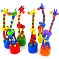 Горячие Продажа НОВЫЕ детские игрушки brinquedos juguetes educativos монтессори деревянные игрушки для детей жираф обучения и образования
