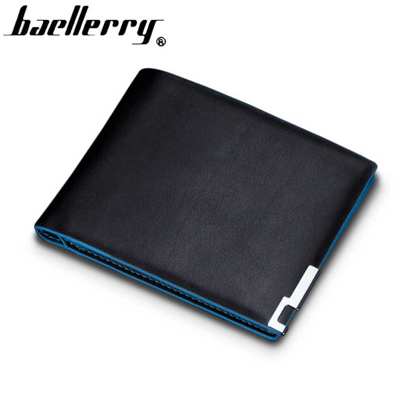 Top quality thin wallet men purse money short men wallets slim fashion simple leather wallet men wholesale price free shipping