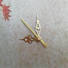 50 комплектов часы кварцевые руки золотые часы с секундной рукой для DIY настенные часы