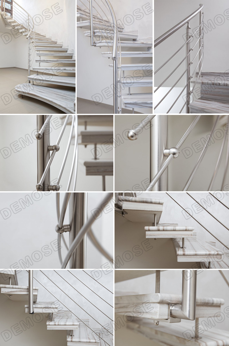 Stainless Steel Railings For Indoor Stairs Prices