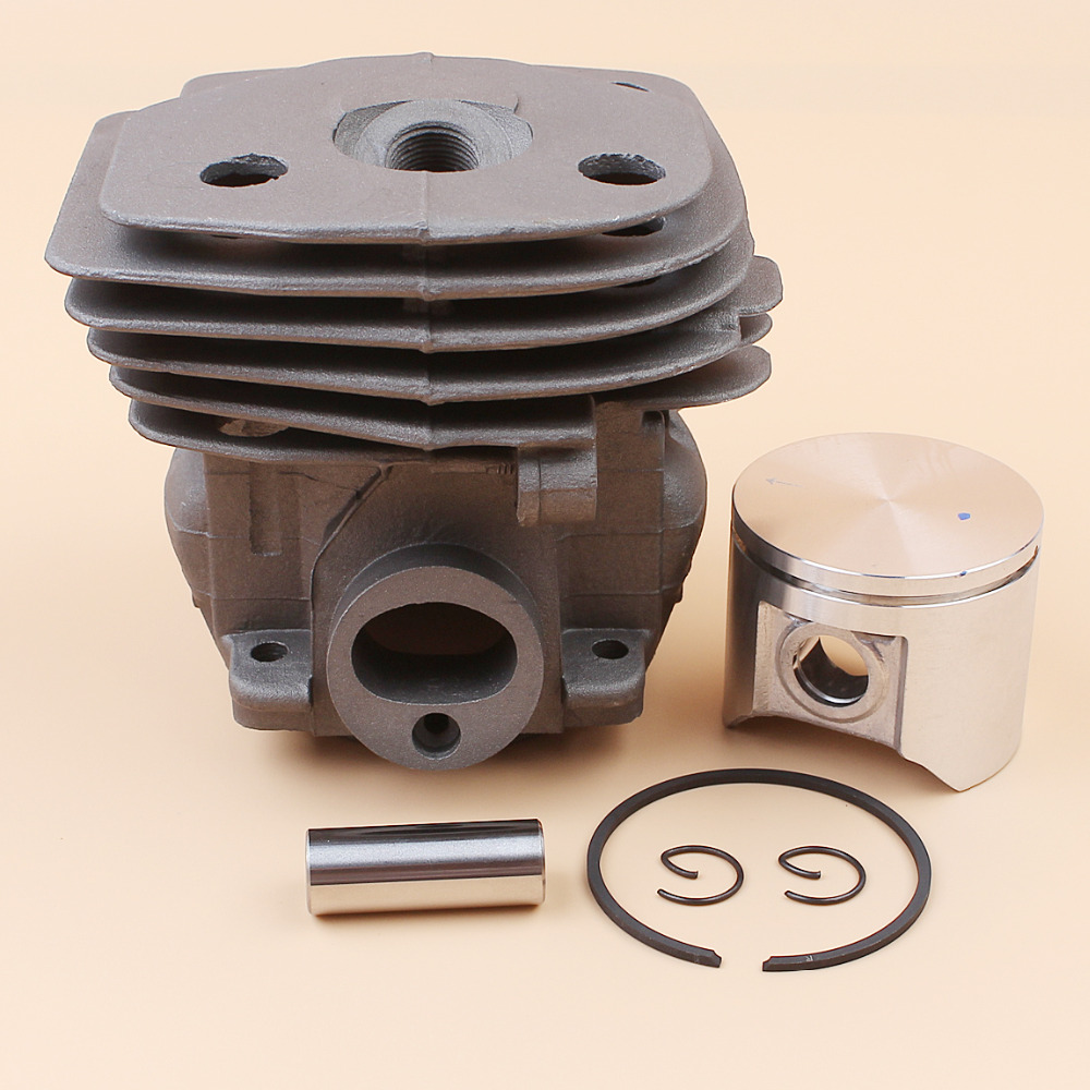 47mm Cylinder Head Piston Kit For HUSQVARNA 359 357 XP 357XP Chainsaw Engine Motor Parts 537 15 73 02