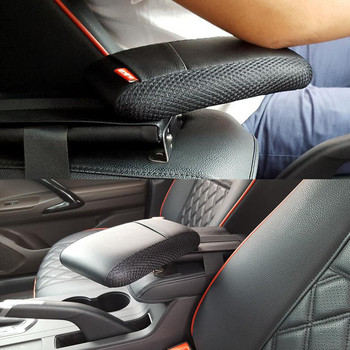 Black Auto Car Center Console Armrest Storage Box Elbow Supporting For Toyota RAV4 2013 2014