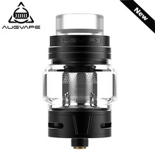Augvape Skynet Sub-Ohm Rta Atomizer 24mm 5.1ML Mesh 0.15 Coil Triple Adjustable Air Slots Top Fill System Vape Tank