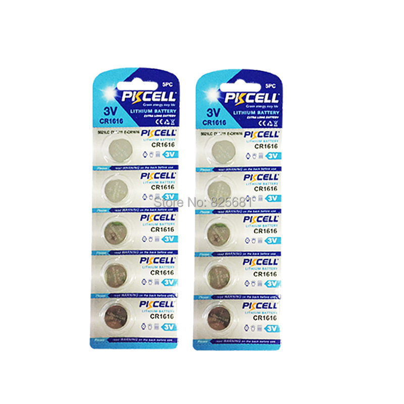 Batterien Panasonic 10 Pc Original Cr1616 3 V Taste Cell-münze Batterien Für Uhr Dl1616 Br1616 Ecr1616 5021lc L11 L28 Kcr1616 Gute QualitäT