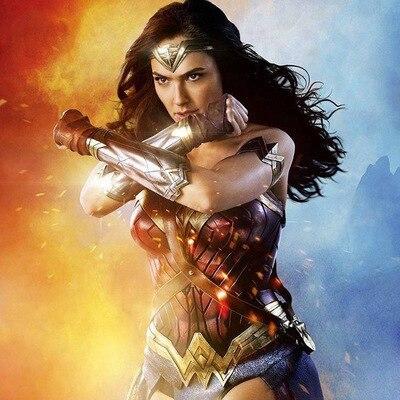 2017 Super Hero Wonder Woman Bracelets Wrister  Bracelets Accessoires Arme De Protection Sleevelet Costume Accessoire Cosplay
