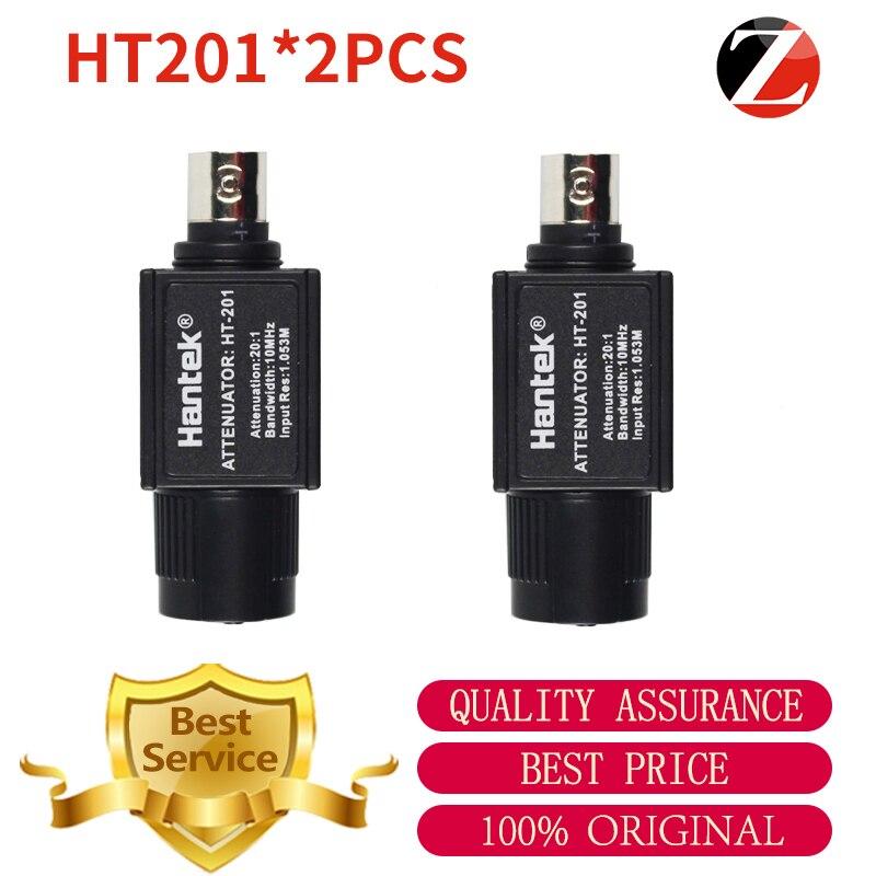 Atenuador passivo ht201 do sinal do osciloscópio de hantek 1008c 20:1 atenuador passivo 300 v max para pico