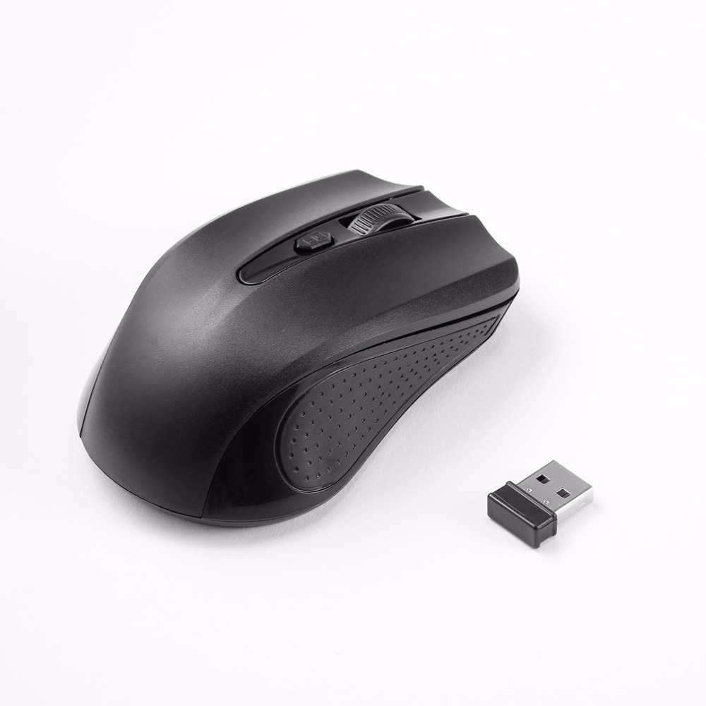 1200dpi Speed Adjustable 2.4GHz Cordless Mouse 4 Key Wireless Mouse with USB Receiver Mice For Laptop PC Computer Wholesale