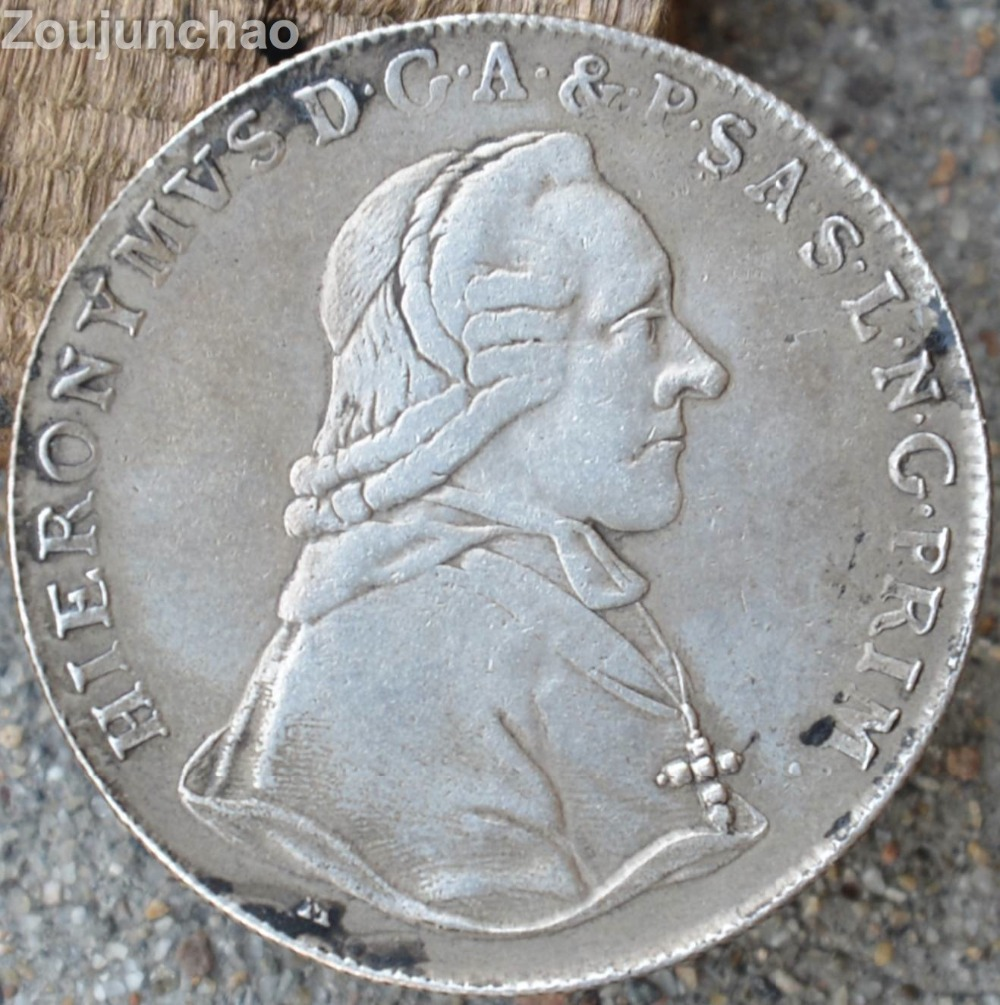 Germany Coins 1795 Silver Coin Rare Can Choose Any Years HIERONYMVSD.G.A.&.P.S.L.N.G.PRIM