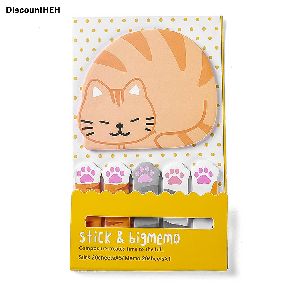 Nice Cute Kawaii Cartoon Animal Finger Unicorn Memo Pad Note Sticky Paper Korean Stationery Cat Planner Sticker School Office Cool In Summer And Warm In Winter Memo Pads Office & School Supplies