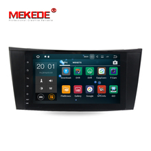 1024*600 screen 1din Car DVD multimedia player for W211 W209 W219 W463 Android 7.1 Quad core 2G RAM 16G ROM with WIFI BT FM RDS
