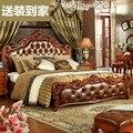 (1 dormitorios + 2 mesa de noche + 1 matrress/1 lote) de 1.5 o 1.8 metros dormitorio sencillo muebles # CE-6095