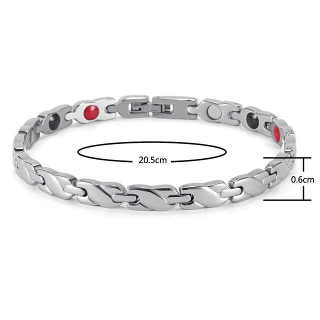 Health Care Elements Stainless Steel Bracelet