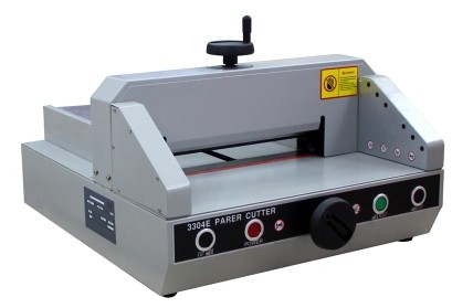 Professional Electric Paper Cutting Machine Guillotine Cutter 330mm