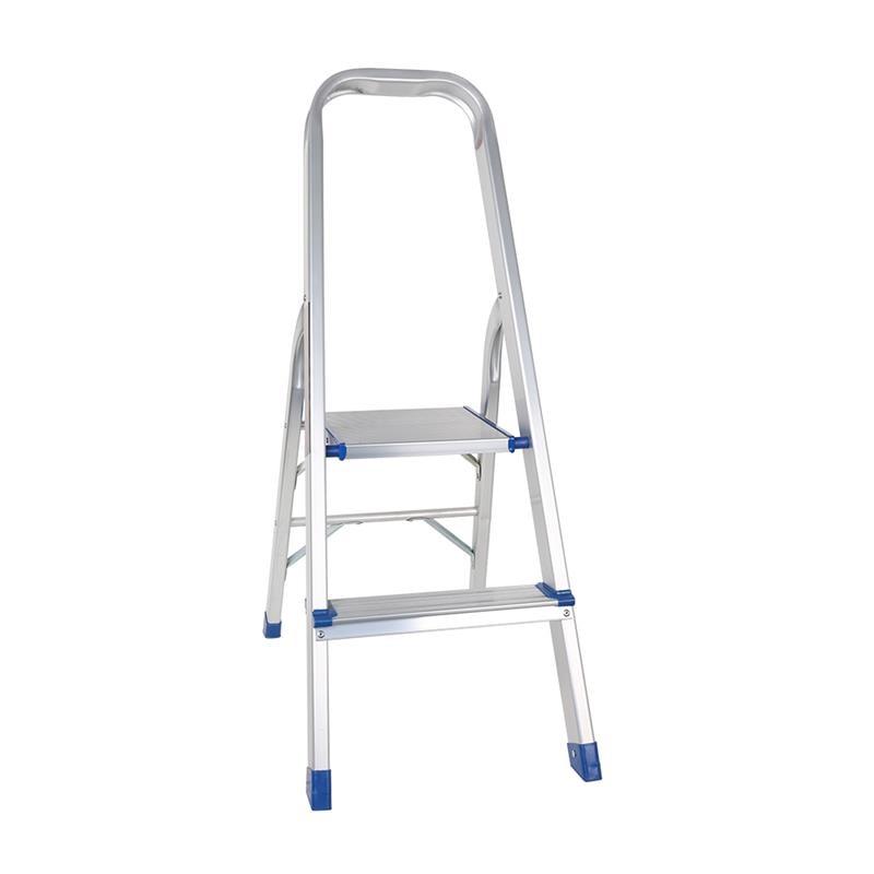 bathla aluminium 2 step ladder platform amazon stool folding standing use household market office aluminum