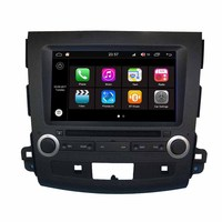 Android 7,1 автомобилей Радио Видео плеер для Mitsubishi Outlander DVD gps