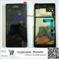 + + + Качество 100% новый Белый Черный Для Sony Xperia Z3 ЖК-дисплей + Сенсорная Панель дигитайзер с рамкой, в на складе!