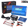 Hot Selling HTRC iMAX B6 80W 6A Battery Charger Lipo NiMh Li-ion Ni-Cd Digital RC Balance Charger Discharger + 15V 6A Adapter