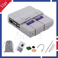 52Pi Original SNESPi Case Kit Mini NES Style NESPi Case Enclosure With Cooling Fan Heat Sinks