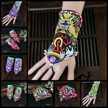 New ethnic style embroidery bracelet features retro bracelets wrist embroidered ladies jewelry