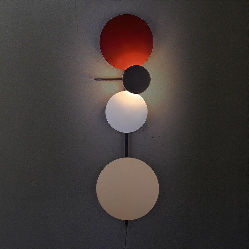 Nordique moderne industriel Long bras oscillant noir applique applique vintage E27 lumières pour salle de bain chambre foyer