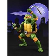 15CM Classic Cartoon Turtles Leo Raph Mike Don Movable Model PVC Action Figures Kids Toys стоимость