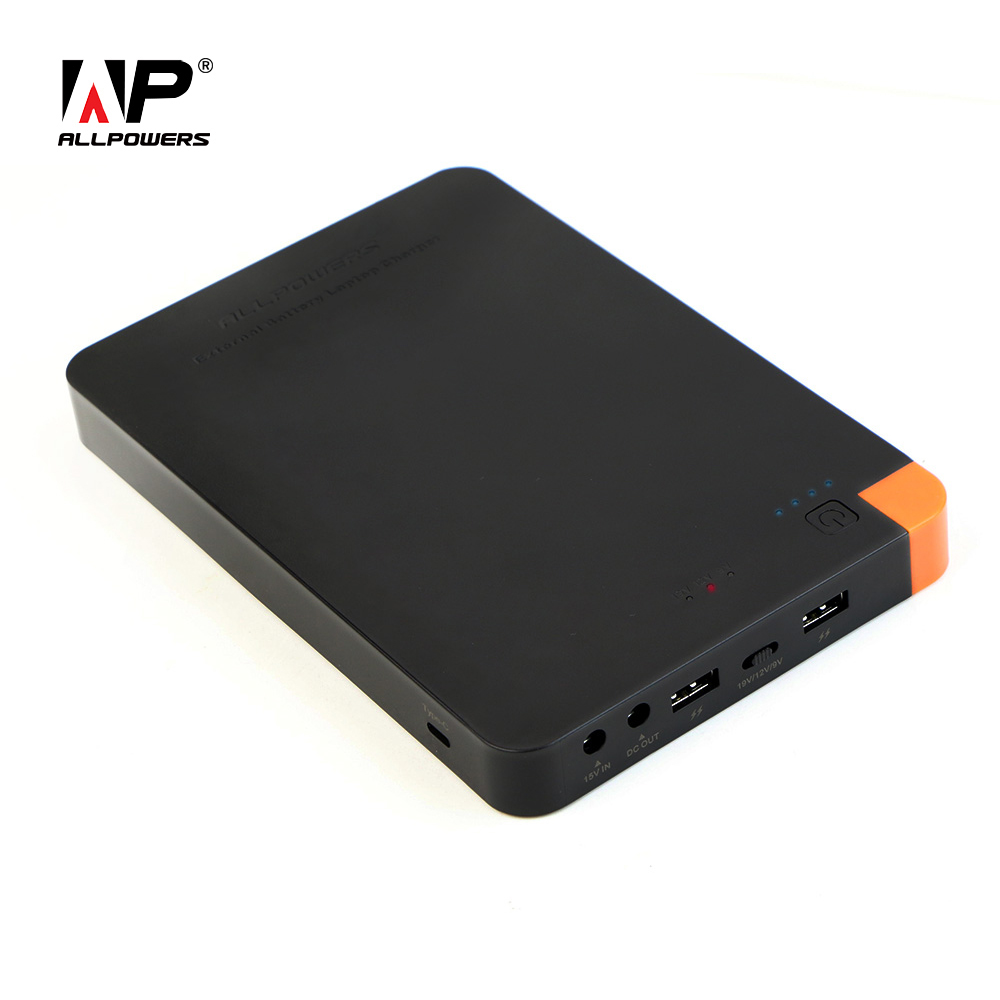 Цена за Allpowers высокое Ёмкость 30000 мАч Мощность банк Портативный телефон/ноутбук Зарядное устройство быстрой зарядки для iPhone IPad MacBook Samsung и т. д..