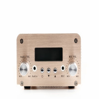 5 Вт/15 Вт Swithchable NIO T15B FM PLL передатчик + 12 В 3A Мощность адаптер + 3,5 мм аудио кабель + автомобильная антенна (новая версия)
