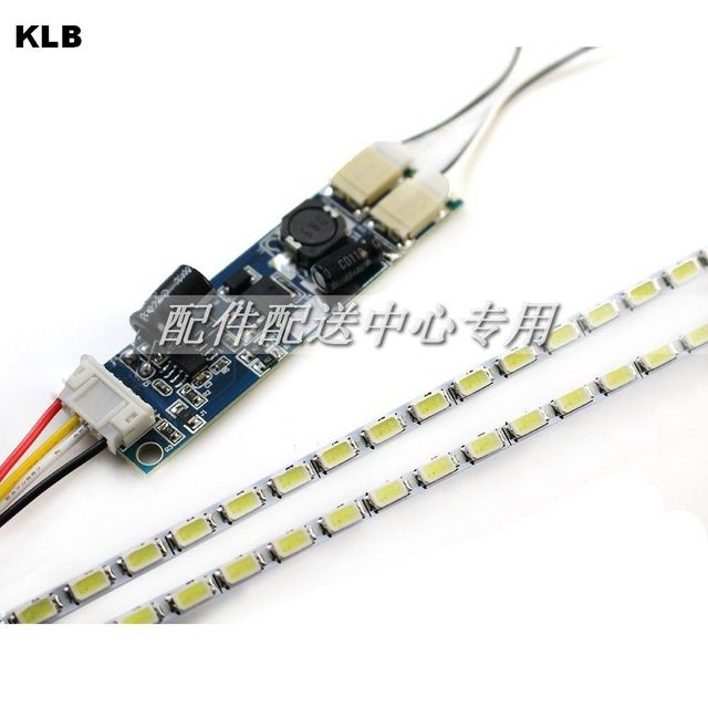 US $80 0 |20 sets x Dimable LED Backlight Lamps Update Kit Adjustable LED  Board +2 Strips for Monitor Desktop Free Shipping-in Industrial Computer &