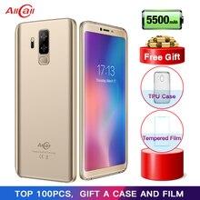 Allcall S5500 5500 мАч 3g смартфон 18:9 5,99 дюймов Android 8,1 MTK6580M 4 ядра 2 Гб оперативная память 16 Встроенная сзади двойной камера мобильного телефона