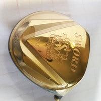 New Cooyute Golf heads KA.TANA SWORD gold Golf driver heads 11.5 loft Club Making Product Golf Club heads no shaft Free shipping