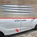 Car accessories Body Side Door Trim moulding lid trim fit for Honda Odyssey 2015 stainless steel 4pcs per set