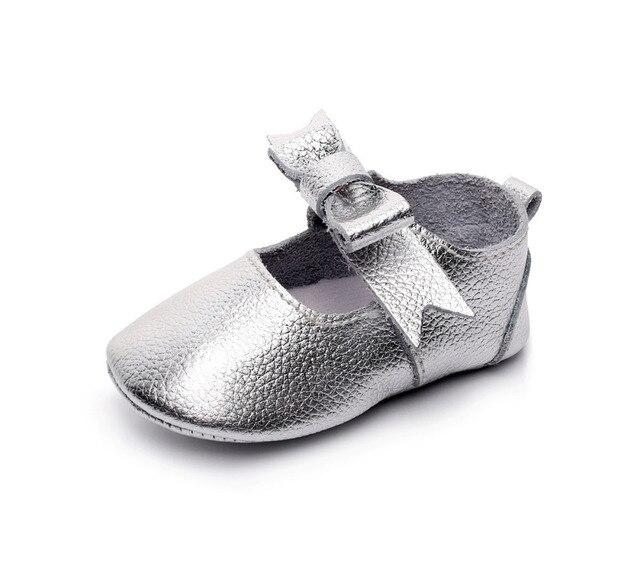 c3f98cdb9ded Hongteya Genuine Leather Baby Girls Princess Kids Mary Jane Shoes ...