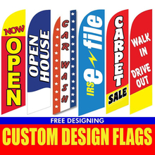 free  shipping xvggdg Custom Flag Graphic custom printing for Feather flag beach banner graphic advertising,