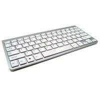 2 4G Ultra Slim Mute Keys Wireless Keyboard Scissors Feet Keyboard For Mac Windows XP 7