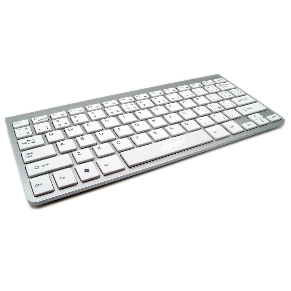 High Quality Spanish Keyboard Ultra Slim Wireless Keyboard