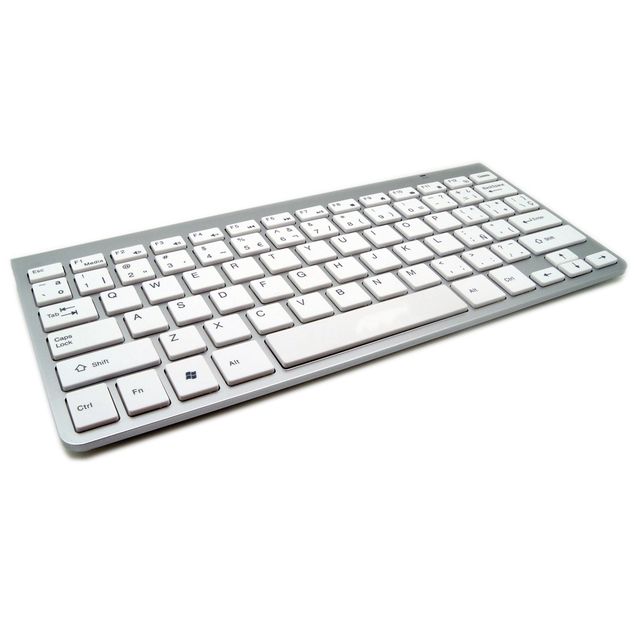 High Quality Spanish Keyboard Ultra Slim Wireless Keyboard
